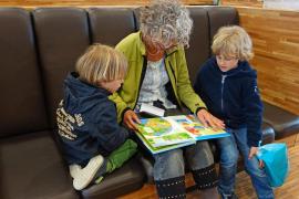 Los contactos entre abuelos y nietos, «bajo estricta observación»