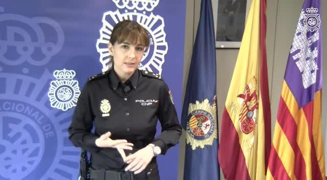Policía con acento mallorquín
