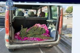 Arrestado en un control policial con casi 3 kilos de marihuana escondidos en el coche