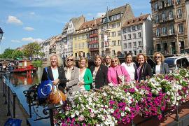 El Rotary Club Mallorca visita la sede del Parlamento Europeo en Estrasburgo