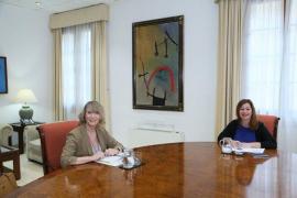 Armengol inicia las reuniones con los partidos para consensuar la reconstrucción