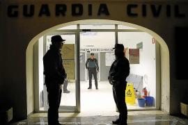 Condenado a medio año de cárcel por golpear y morder a un guardia civil en la Colònia de Sant Jordi