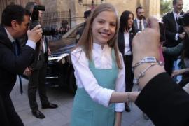 La infanta Sofía cumple hoy 13 años