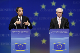 Zapatero y Van Rompuy prepararán las propuestas para la cumbre del G-20