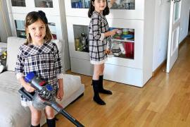 Los niños de Mallorca colaboran en las tareas domésticas