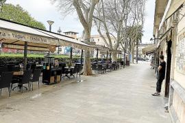 El Ajuntament de Palma no descarta ampliar las terrazas en las plazas de aparcamiento de coches