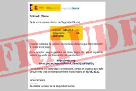 La Seguridad Social no devuelve 345 euros, es un fraude