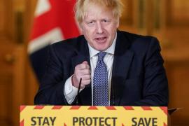 Boris Johnson dice que ha pasado el «pico» de la pandemia en Reino Unido