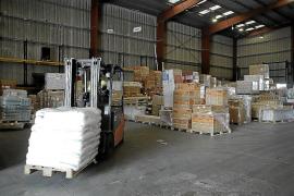 El transporte de mercancías a Baleares cae más de un 60 %
