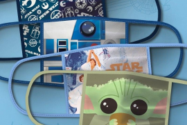 Disney vende mascarillas de tela con sus personajes más queridos con fines benéficos