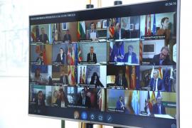 Sánchez aborda con los presidentes autonómicos la «cogobernanza» en la desescalada