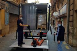 Un total de 352.500 mascarillas se distribuirán a partir del lunes en Baleares
