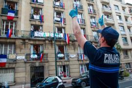 El número de muertos en 24 horas en Francia vuelve a bajar