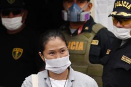 Keiko Fujimori sale de la prisión por la pandemia de la COVID-19