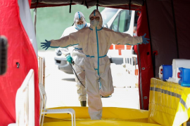 Notable crecimiento del número de fallecidos con coronavirus en España