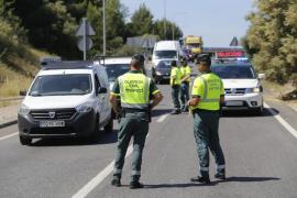 Atascos en Palma por un control policial
