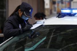 Nueve arrestados por desobediencia en Baleares