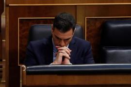 Sánchez, al PP: «En una situación así, abstenerse es como votar que no»