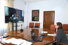 Armengol y Puig piden al Gobierno y a la UE una estrategia para reactivar la movilidad aérea y el turismo