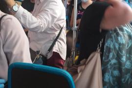 Preocupación entre los usuarios del autobús de Palma por la falta de frecuencias