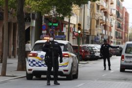 El domingo se dispararon las actas levantadas por la Policía Local de Palma por el estado de alarma