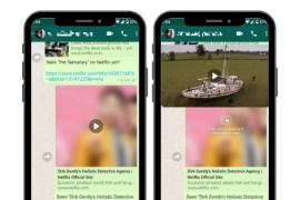 Como ya sucedió con Facebook o YouTube, ahora podrás ver contenidos de Netflix directamente en WhatsApp