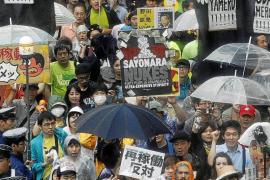Japón promoverá las energías renovables tras las protestas de los antinucleares