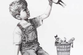 El regalo de Banksy a los sanitarios que luchan contra la COVID-19