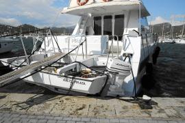 Vientos huracanados en forma de 'cap de fibló' causan incidentes en Andratx, Calvià y Palma
