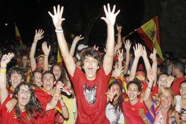 Celebración Eurocopa Eivissa