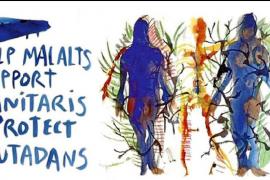 Miquel Barceló 'pinta' la crisis del coronavirus de azul y amarillo