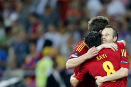 Iniesta, declarado mejor jugador de la Eurocopa 2012
