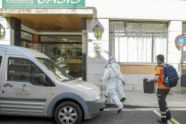 Sólo 59 de los 4.342 ancianos de las residencias de Baleares han vuelto con sus familias estos días