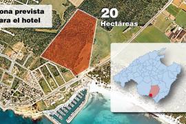 Cinco entidades ecologistas piden a Bauzá que pare el hotel en Sa Rápita