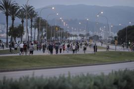 Cort transforma 13 kilómetros de calles de Palma en espacios peatonales entre semana