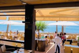 Poca actividad en los bares y restaurantes costeros de Mallorca, en contraste con los del interior