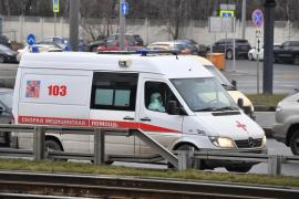 Al menos 5 muertos en el incendio de un hospital para pacientes con coronavirus en San Petersburgo