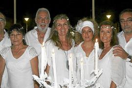 Cena en Blanco en Parc de ses Estacions