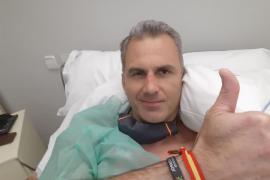Ortega Smith, ingresado por complicaciones con el coronavirus