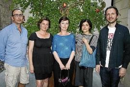 Inaugurada la exposición Floema en Edicions 6A