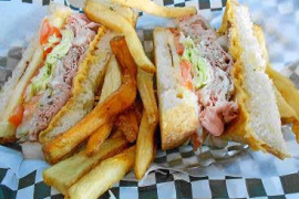 El sandwich: un verdadero 'roast beef' americano