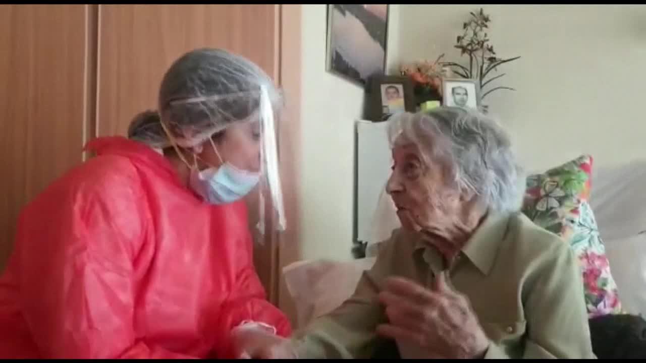 Maria Branyas, la mujer más longeva de España supera el coronavirus a los 113 años