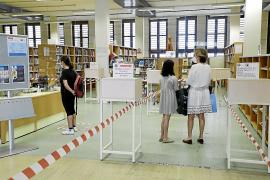 Bibliotecas y usuarios se reencuentran en Palma en una 'rentrée' casi distópica