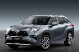 Toyota presenta el nuevo Highlander Electric Hybrid, el SUV más grande de la familia