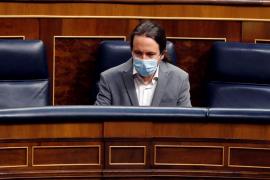 Iglesias califica a Vox como partido de caraduras, que ampara a buitres y millonarios