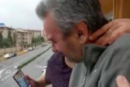 Fallece Pedro, el hombre que se emocionó con la felicitación de la policía