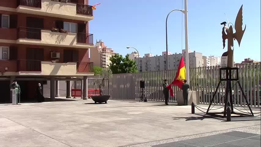 La Guardia Civil conmemora en Palma el 176 aniversario de su fundación