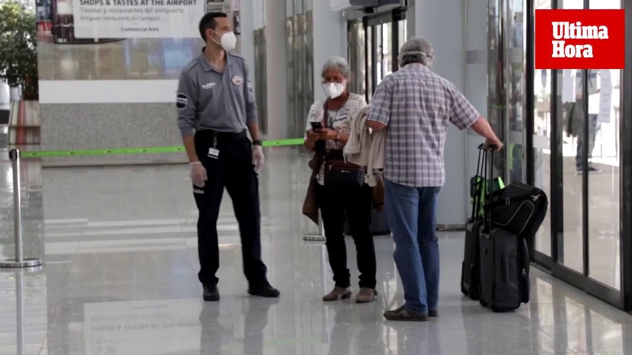 AENA prohíbe la entrada en Son Sant Joan sin tarjeta de embarque