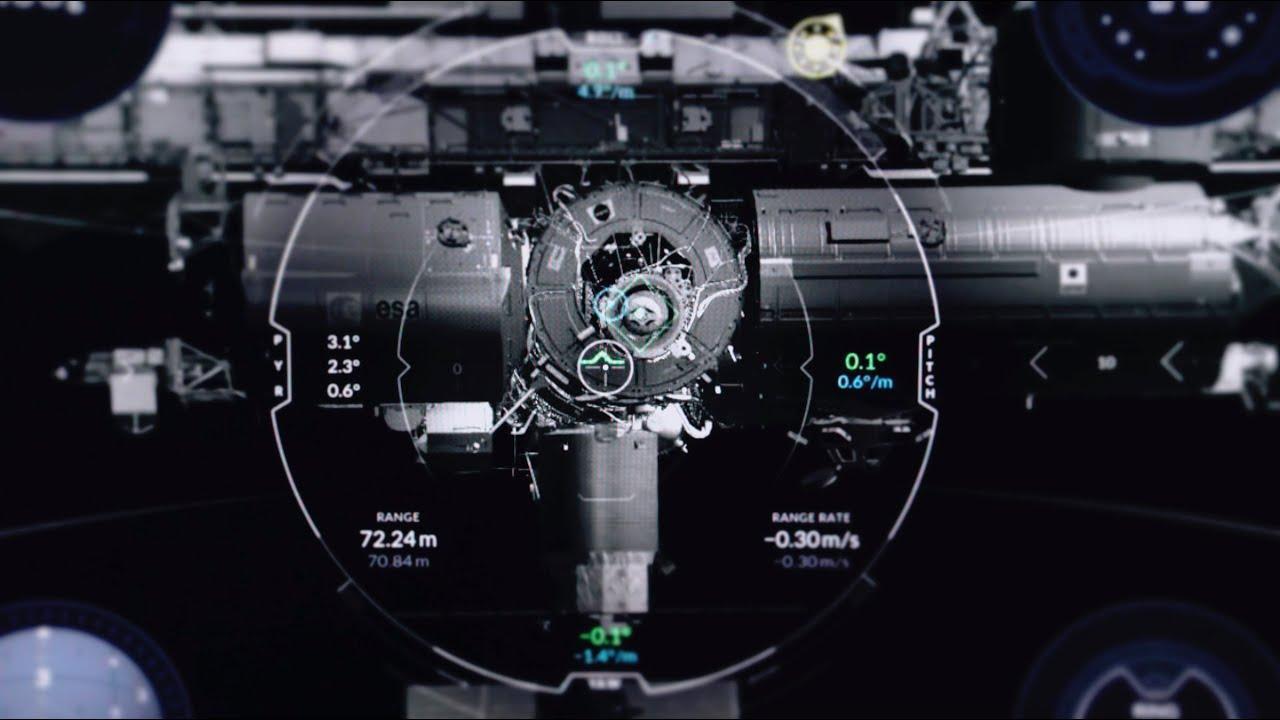 SpaceX lanza un simulador de acoplamiento de su cápsula Dragon 2 con la Estación Espacial Internacional