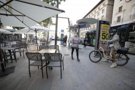 Los restauradores de Palma reciben las primeras multas